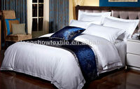 Duvet cover,flat sheet and pillow cases set for hotel bed linens