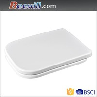 Square Shaped Compact Back To Wall Toilet Pan WC Soft Close Seat & Concealed Cistern