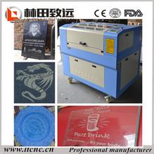 China good quality high precision LT-6040 mini laser cutting engraving machine /small laser cutting machine for sale