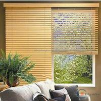 Home decor living room curtain foam wood venetian blinds
