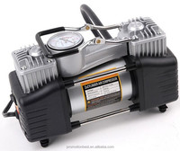 double cylinder car air pump / car air compressor / truck tire pump
