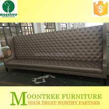 Moontree MSF-1162 Top Quality Modern Design Bar Leather High Back Sofa