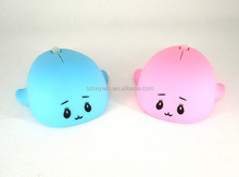 2015 new charming for gift cartoon cute optical 3D wired mouse