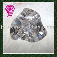 gallant styleh white fancy cut cz cubic zirconia cz gemstone