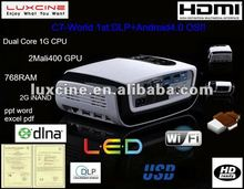 C7 DLP LED Android4.0 OS 3D Projector