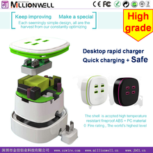 Millionwell 2015 new style travel adapter product list , multi tool usb charger