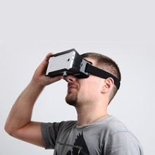 "wholesale ColorCross Universal Google Virtual Reality 3D Video Glasses for 4~6"" mobilephones Cardboard Oculus rift dive vrase"