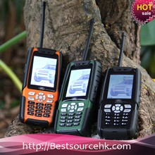 Cheap 2.4 Inch L8 Rugged Land Rover Dual Sim Card Phones 100 Mile Walkie Talkie with Sim Card