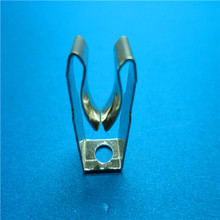 ISO 9001 China custom stamping battery spring clip button