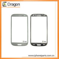 Silver Original Front Touch Screen Glass Panel For Samsung Galaxy S3 SIII i9300