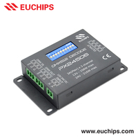 Shanghai Supplier DIP switch 3A 3 channel 12-24vdc rgb dmx dimmable led strip driver