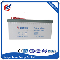 12V 200AH sealed lead acid battery for solar power