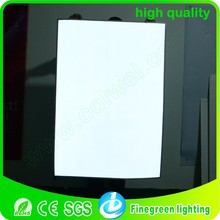 stock A0 White and blue color of electroluminescent sheet