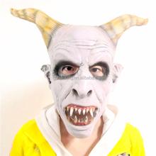halloween novelty latex full head mask female realistic scary masks
