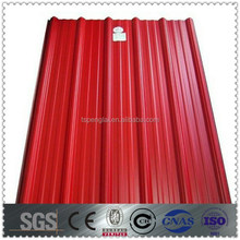 different surface colour sheet steel roofing prices