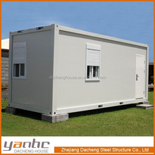 Modern Integrated Fast prefabricated Lovely Small Cabin Container House