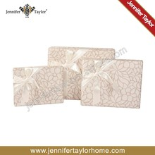top selling fabric covered decorative gift box from Hangzhou