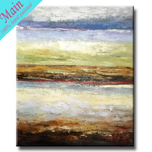 Newest design picture hot abstract canvas oil painting