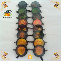 3D eyeball monster hologram poker glasses halloween holographic