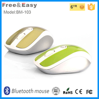 Colorful Fashionable Bluetooth Wireless Mouse
