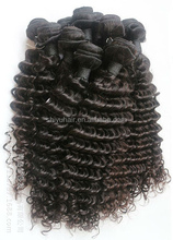 Stock Fashion Noble Gold Hair Weaving Noble Synthetic Hair Weaving