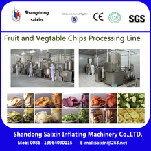Fruits and Vegetable Chips Vacuum Fryer Processing Equipment