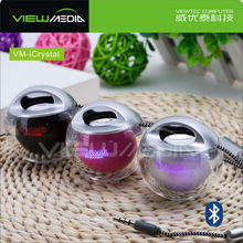 computer gadgets 2015 bluetooth speaker with 7 color logo