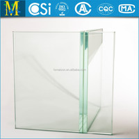 Laminated safety glass railings for indoor/outdoor stairs/balconies