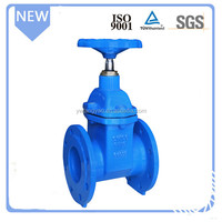 BS standard High pressure cast iron PN16 gate valve