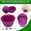 bicarbonato de silicone cupcake moldes