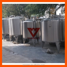 500L 132gallon Liquid detergent mixing tank,steam heating mixing tank,cosmetic mixing tank/Mixing Equipment