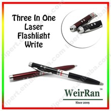 (130300) 3 In 1 Design Promotional Portable Pen with Torchlight for Customer