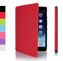 2015 new style Ultra slim folio leather case for Ipad Air 2