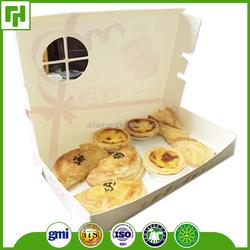 Factory custom made logo litho offset printed paper box for cupcake