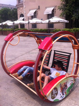 Outdoor and indoor entertainment electric wheel ride car
