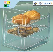 Wholesale products multi tiers acrylic cake display shelf/ 2015 bottom price cake display shelf
