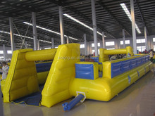 Factory Outlet inflatable football field, inflatable soap football field, inflatable soccer pitch for sale