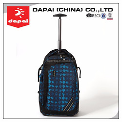 Rolling Backpack Travel Trolley Backpack With Laptop