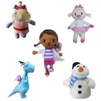 Cartoon charactor plush doll Doc Mcstuffins plush toys Stuffing animal toys