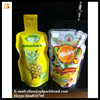 Wholesale high quality BPA free foil laminated hot filling fruit juice pouch
