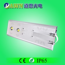 50W waterproof integrated all in one solar led street light solar power