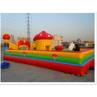inflatable education city games kids /giant jumping castle inflatable slide /big