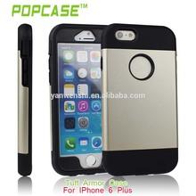 china de fábrica al por mayor de lujo de la cubierta para el iphone plus 6 caso