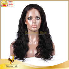 Trade Assurance Fine Craftmanship Invisible Knots Virgin Color 100% Remy Human Hair African American Full Lace Wigs