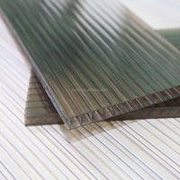 UV Coated Brown Lexan Polycarbonate Sheet 6mm for Awning System