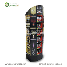 POS Corrugated Carton Display For Cosmetics Promotion