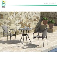 Outdoor furniture wicker rattan garden coffee table sets