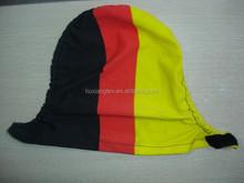 custom Germany digital printing side mirror covers, car mirror socks flag