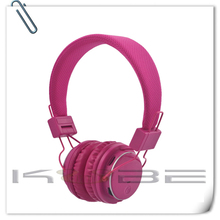 Wholesale High Quality Cheap Colorful FM Sport mp3 player wireless headphone