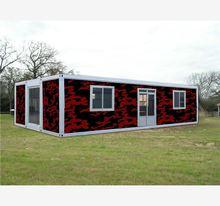 light luxury modular woode easy assembly/flexible design/stable living modular house
